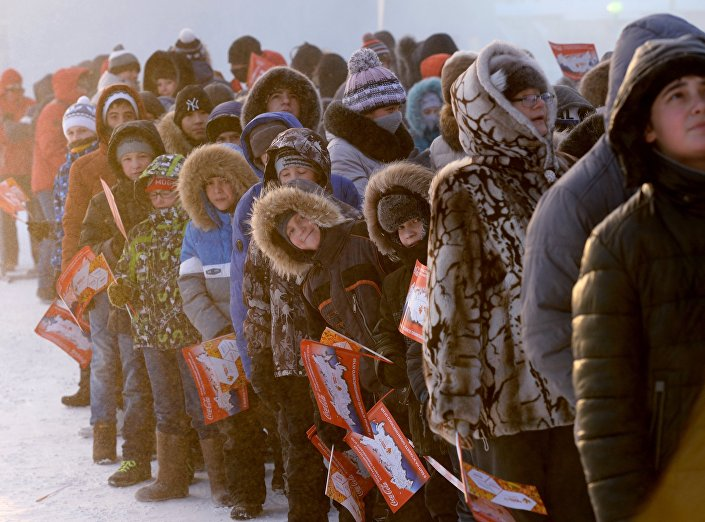 Mieszkańcy Norylska