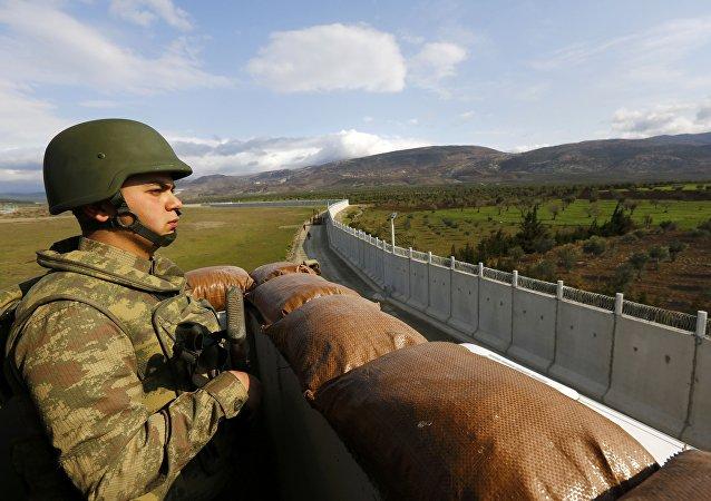 Ściana między Turcją a Syrią