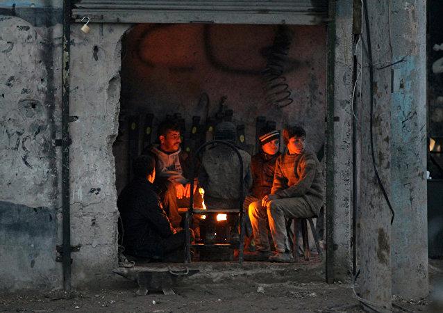 Sytuacja w Syrii. Miasteczko al-Rai, 9 stycznia 2017