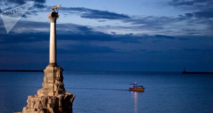 Pomnik w Sewastopolu