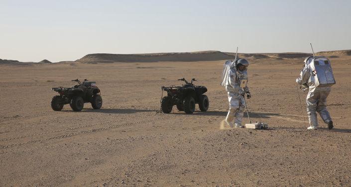Symulacja życia na Marsie