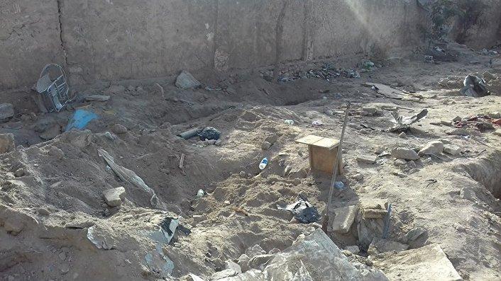 Stary cmentarz żydowski w Mosulu