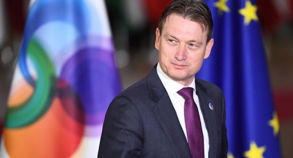 Minister spraw zagranicznych Holandii Halbe Zijlstra