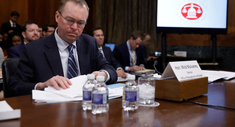 Dyrektor działu administracyjno-budżetowego administracji USA Mick Mulvaney