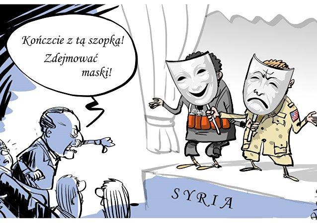 Erdogan: Czas zakończyć ten spektakl. Zdejmujcie maski