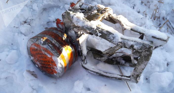 Jedna z czarnych skrzynek samolotu An-148, który rozbił się pod Moskwą