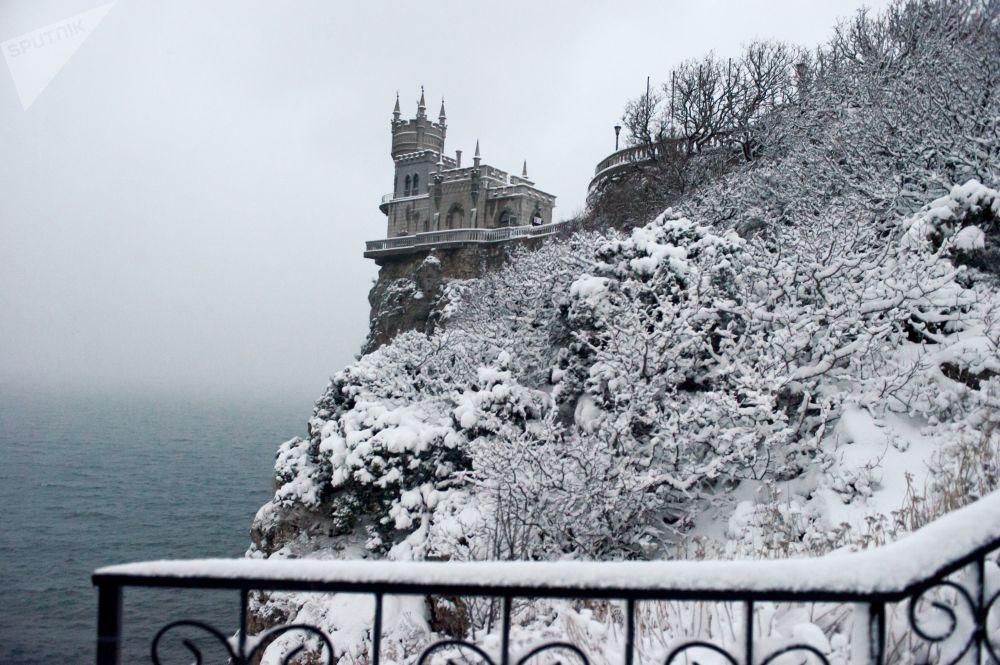Zamek Jaskółcze Gniazdo na Krymie