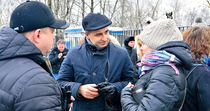 Dariusz Klechowski, dyrektor Instytutu Polskiego w Moskwie.