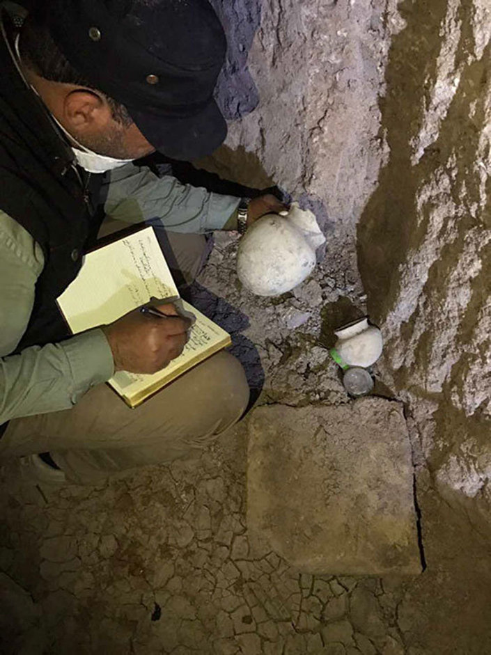 Zniszczony przez terrorystów grobowiec ujawnił tajemnice starożytności