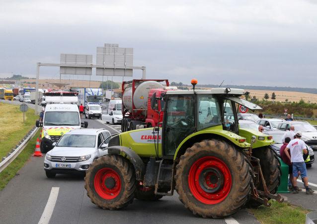 Protesty rolników we Francji