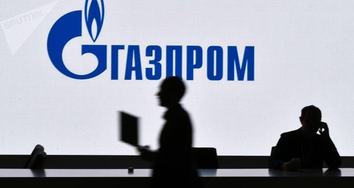 Pawilon Gazpromu na wystawie zorganizowanej w ramach Rosyjskiego Forum Inwestycyjnego w Soczi