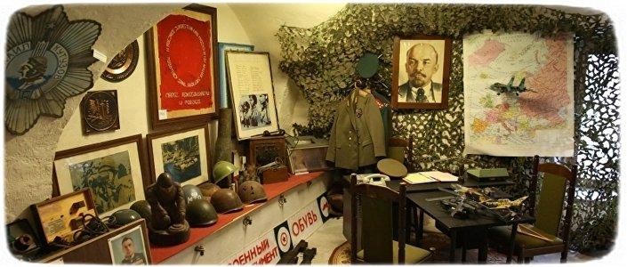 Prywatne Muzeum Armii Radzieckiej i LWP Pana Michała Sabadacha