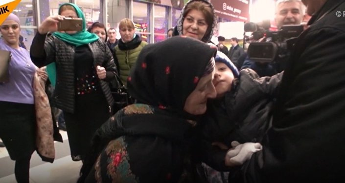 Chłopiec z Dagestanu