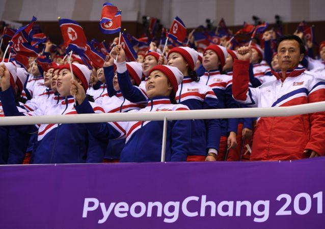 Cheerlederki z Korei Północnej, tzw. Armia Piękna