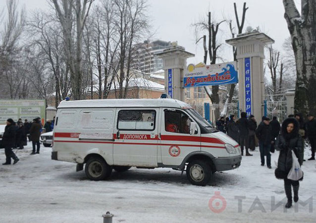 Sanatorium Lermontowskij w Odessie