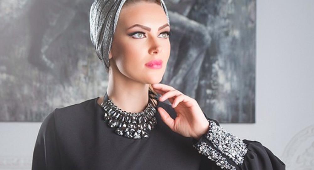 Rosyjsko-ukraińska modelka Darina Tkaczenko