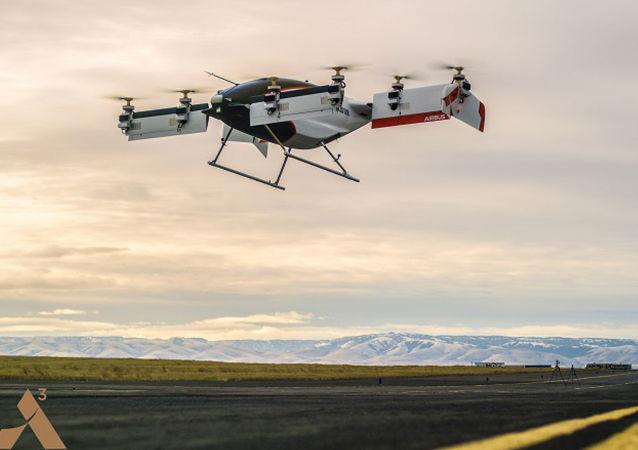 Pierwsza latająca taksów Alpha One projektu Vahana firmy Airbus