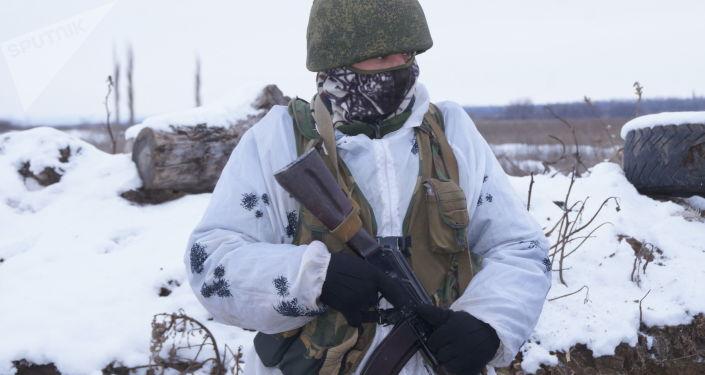 Zołnierz Milicji ŁRL