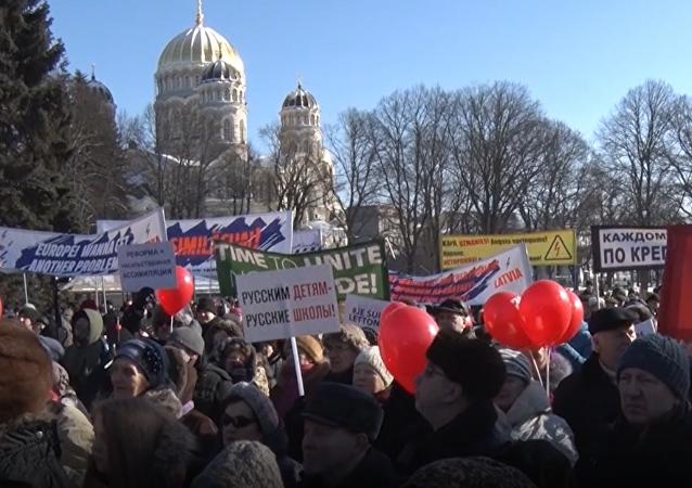Na Łotwie bronią języka rosyjskiego
