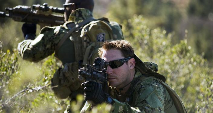 Żołnierze sił specjalnych Navy SEAL