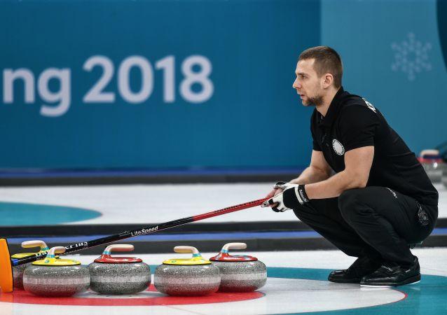 Rosyjski sportowiec Aleksander Kruszelnicki