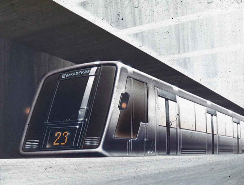 """Przez wiele lat w moskiewskim metrze kursowały identyczne pociągi. Autorzy projektu pociągów metra """"Srebrna nić"""" w 1987 roku zaproponowali cztery rodzaje wagonów. Na linii pierścienia, która łączy stołeczne dworce, miały jeździć wagony z wydzielonymi miejscami na bagaż. Zaprojektowano też wagon """"szczyt"""" z miejscami stojącymi w godzinach szczytu oraz wagon """"cięciwa"""", który otwierał się jednocześnie z obu stron."""