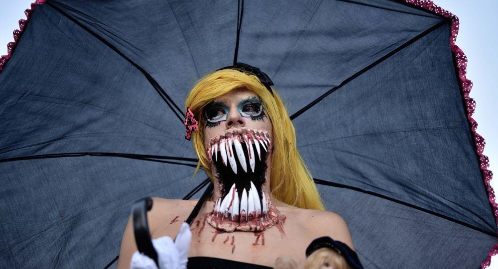 Parada Zombie w Meksyku