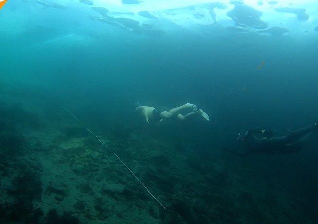 Nurkowanie w Bajkale