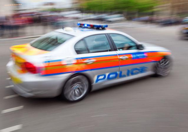 Wóz policyjny w Londynie
