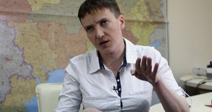 Nadieżda Sawczenko. Zdjęcie archiwalne