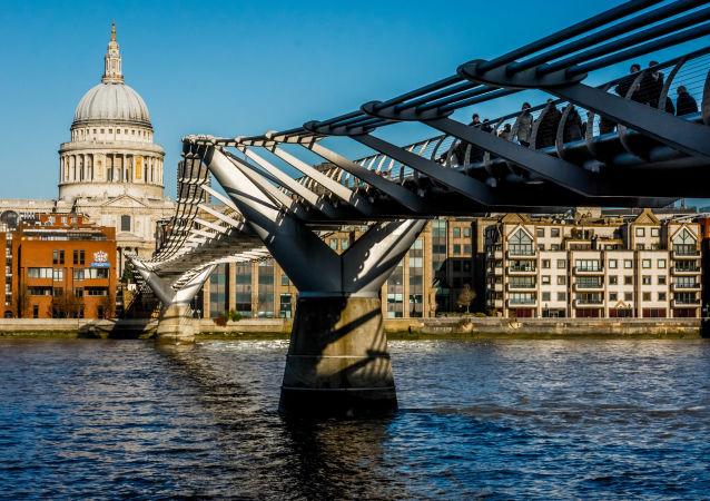 Most Millenium w Londynie