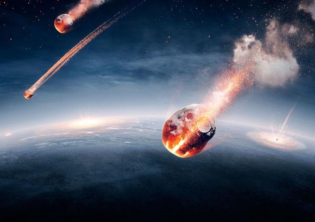 Meteoryty w atmosferze Ziemi