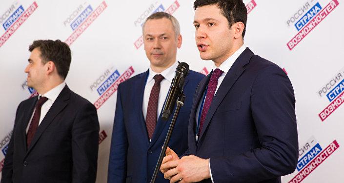 Gubernator obwodu kaliningradzkiego Anton Alichanow
