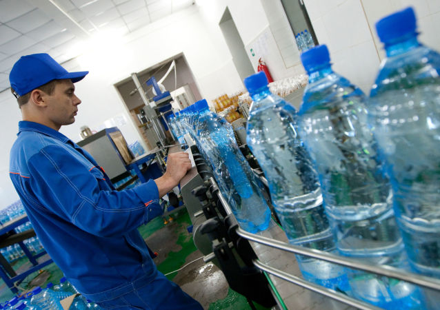 Produkcja wody mineralnej