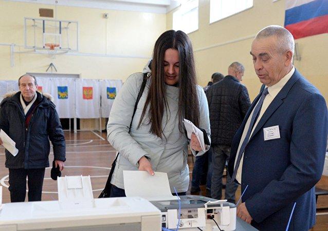 Wybory prezydenckie, Władywostok