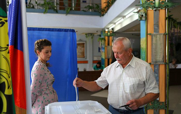Wybory w Rosj