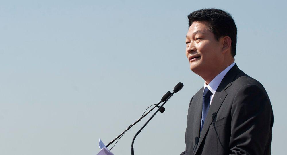 Południowokoreański polityk Song Young-gil