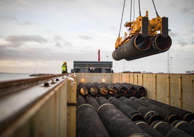 Rury do Nord Stream 2, Niemcy