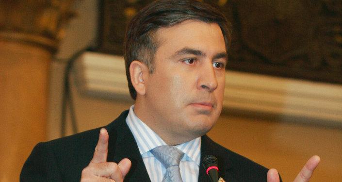 Gubernator obwodu odeskiego Michaił Saakaszwili
