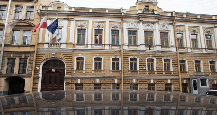 Budynek konsulatu generalnego Polski w Petersburgu