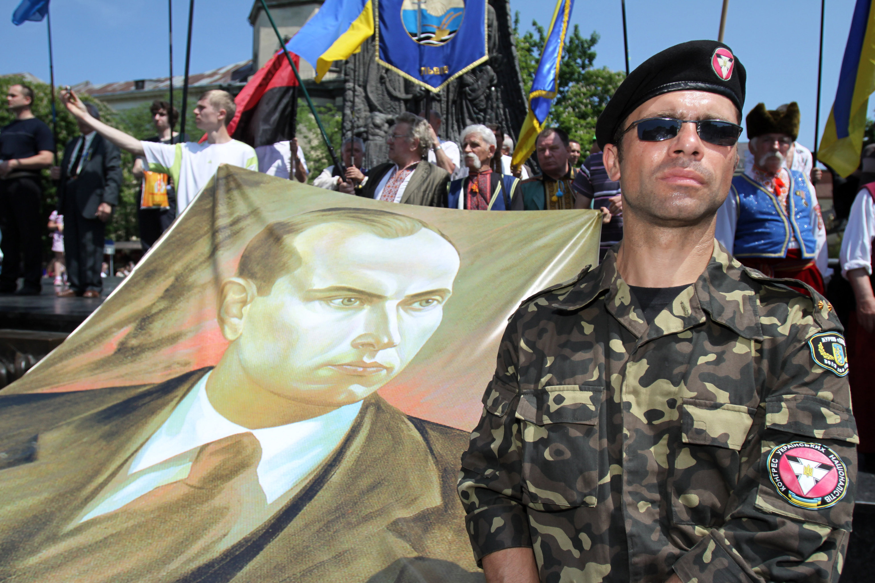 Portret Stiepana Bandery