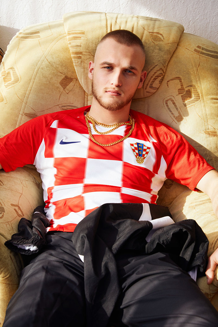 Strój chorwackiej reprezentacji na MŚ 2018
