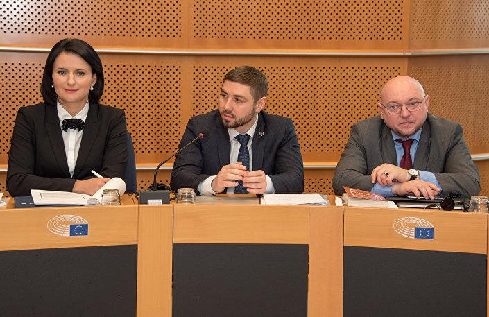22 marca w Brukseli w Europarlamecie odbyła się konferencja poświęcona zagadnieniom związanym z tragicznymi wydarzeniami, jakie miały miejsce na Majdanie cztery lata temu.