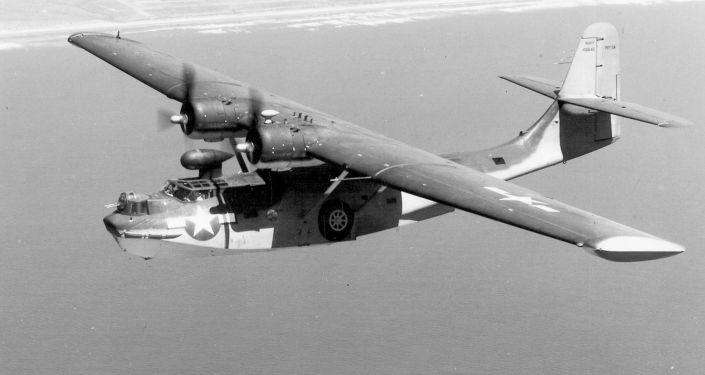Amerykański samolot amfibia PBY-6A Catalina