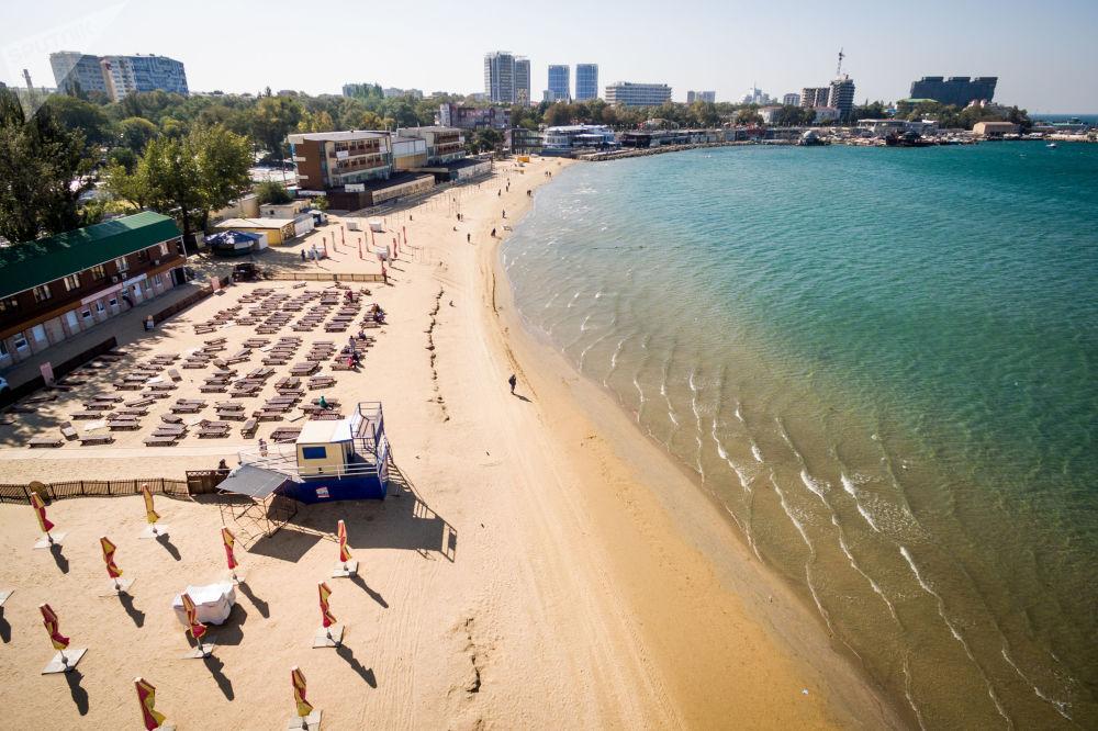Plaża w Anapie