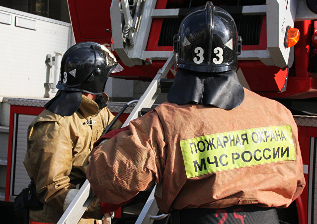 Rosyjscy strażacy