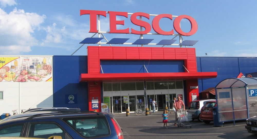 Supermarket Tesco w Mielcu