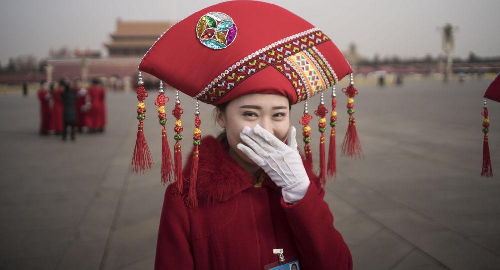 Hostessa w Pekinie