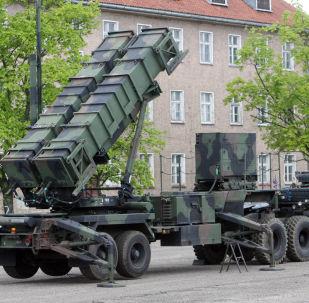 Baza wojskowa w Morągu, w której jest rozmieszczona bateria amerykańskich zestawów obrony przeciwlotniczej Patriot