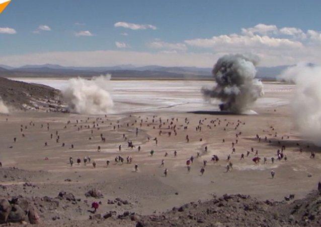 Rekonstrukcja historyczna w Boliwii